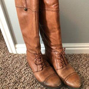 Sam Edelman Shoes - ✨SALE✨ Sam Edelman Perron Brown Leather Boot 8